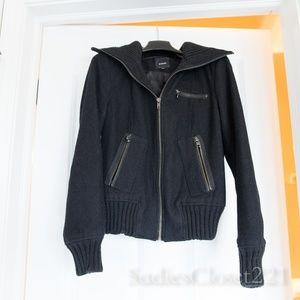 Express Black Bomber Jacket XS